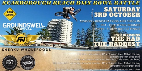 Groundswell Scarborough BMX bowl battle - hosted by Freestyle Now tickets