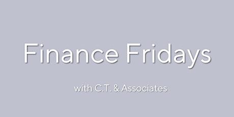 Finance Fridays:Preparing for Retirement-CT & Associates Free 30min Webinar tickets