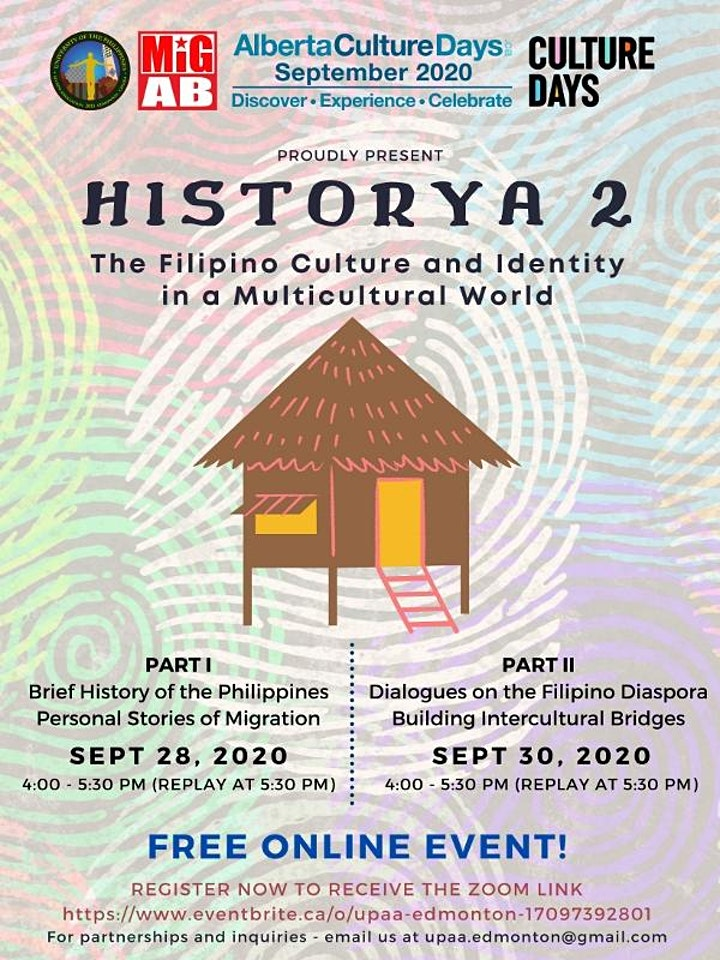 HISTORYA 2: The Filipino Culture and Identity in a Multicultural World image