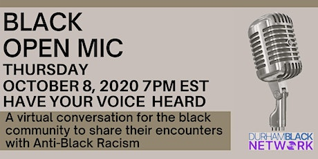 Black Open Mic tickets