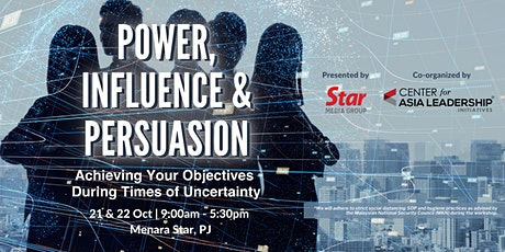 Power, Influence and Persuasion tickets