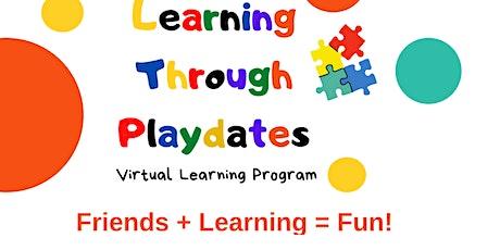 Learning Through Playdates Virtual Preschool tickets