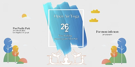 26/2 Open Air YOGA!  @ Pan Pacific Park (MON to SAT @ 9am) tickets