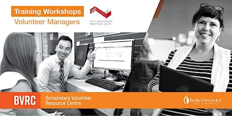Volunteer Manager Workshop: Creating Remote Skilled Volunteer Opportunities tickets