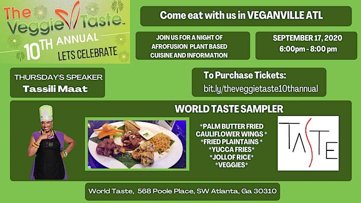 The Veggie Taste - 10th Year Anniversary - Online  image
