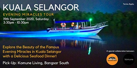 Kuala Selangor Evening Miracles Tour with Komune tickets