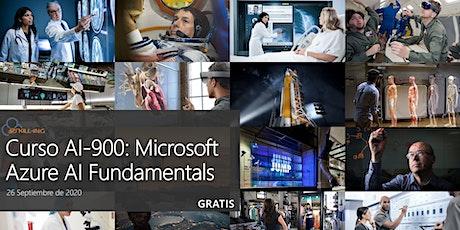 Curso AI-900T00-A: Microsoft Azure AI Fundamentals - Gratis billets