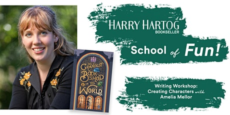Writing Workshop: Creating Characters with Amelia Mellor tickets
