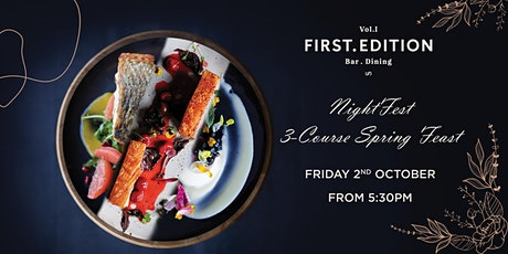 Floriade NightFeast: First Edition  Canberra Spring Carnival Menu tickets