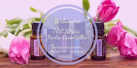 Atelier Virtuel-TOP 10 des Huiles Essentielles à avoir chez soi! (Québec) billets