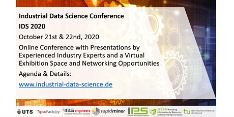 IDS 2020  -  Industrial Data Science Conference tickets