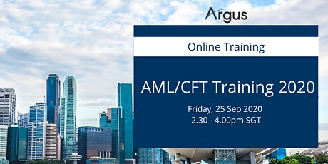 AML / CFT Training 2020- Fund Managers  - Singapore tickets