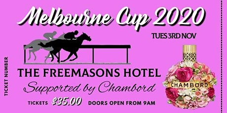 Melbourne Cup Lunch Freemasons Hotel tickets