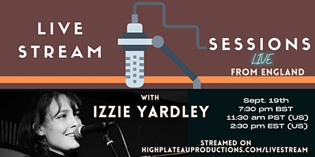 Livestream with Izzie Yardley tickets