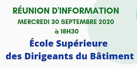 Réunion d'information : L'ESJDB arrive à Perpignan ! entradas