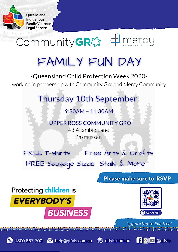QIFVLS Family Fun Day Townsville | QLD Child Protection Week 2020 image