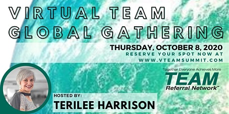 Virtual TEAM Global Gathering tickets