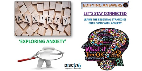 Exploring Anxiety Webinar tickets