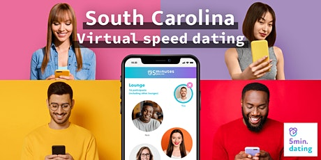 South Carolina Virtual Speed Dating for 30s & Over singles | Oct 3 tickets