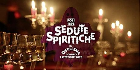 Sedute Spiritiche in Distilleria biglietti