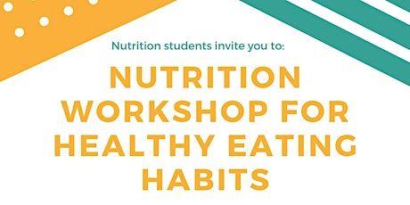 Nutrition Workshop with Student Nutritionists tickets