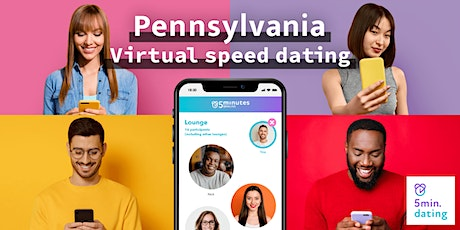 Pennsylvania Virtual Speed Dating for 30s & Over singles | Sep 20 tickets