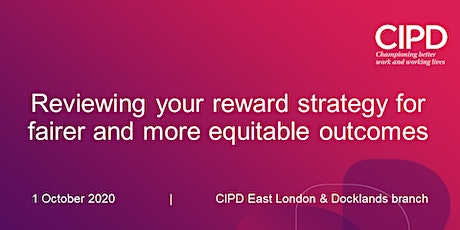Reviewing your reward strategy for fairer and more equitable outcomes tickets