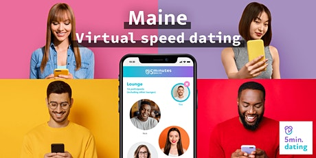 Maine Virtual Speed Dating for 30s & Over singles | Nov 27 tickets