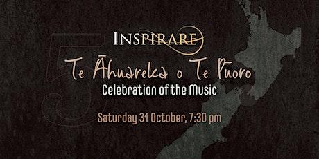 Te Āhuareka o Te Pūoro (Celebration of the Music) tickets