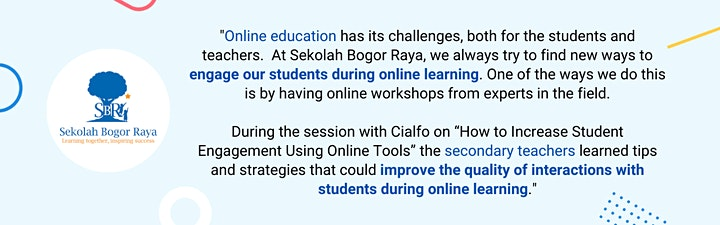 Cialfo Institute: Continuing Professional Development for Schools image