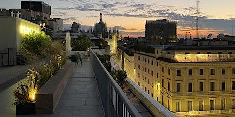Aperitivo sul rooftop vista Duomo biglietti