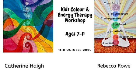 Kids Colour & Energy Therapy tickets