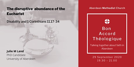 The disruptive abundance of the Eucharist tickets