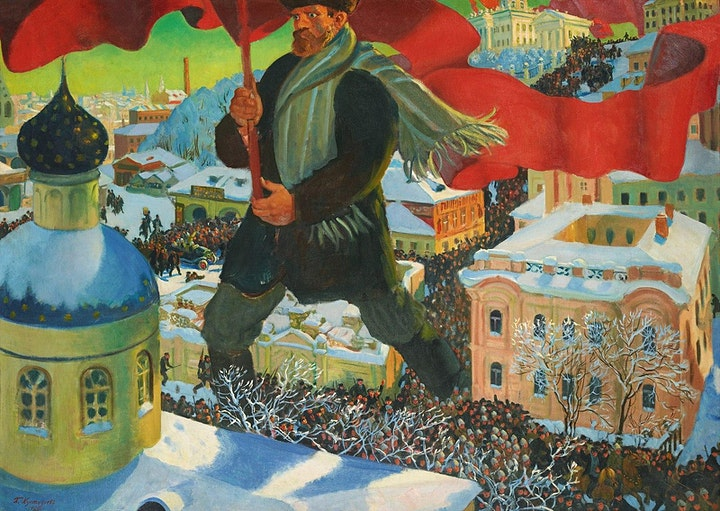 Art and Propaganda: Experiments of the Russian Revolution image