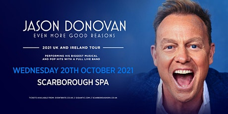 Jason Donovan 'Even More good Reasons' Tour (Scarb tickets