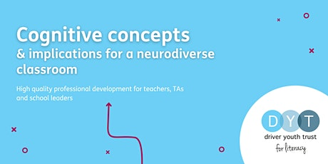 Cognitive concepts & implications for a neurodiverse classroom - Full day tickets