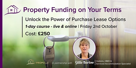 1-Day Purchase Lease Options Course | Property Funding on Your Terms tickets