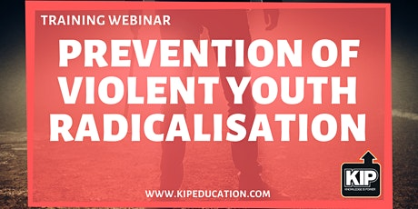 Webinar: Prevention of Violent Youth Radicalisation tickets