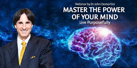Master The Power of Your Mind to Live Purposefully tickets
