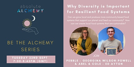 Why Diversity is Important for Resilient Food Systems tickets