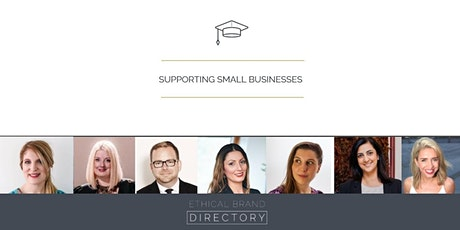 Small Business Support Webinar Series by Ethical Brand Directory 2020/Q4 tickets