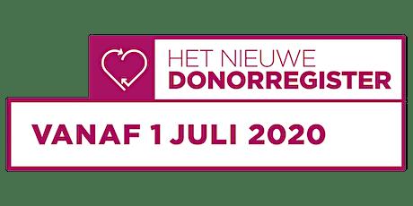 Workshop Online Donorregistratie 8 oktober 2020 tickets