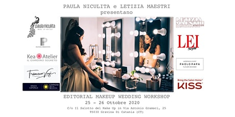 EDITORIAL MAKE UP WEDDING  WORKSHOP - OTTOBRE  2020 biglietti