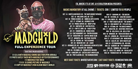 Madchild Live in Newmarket Nov 14th at Stellar Hall with s/g Robbie G tickets