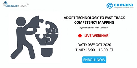 [Free Webinar] Adopt Technology to Fast-track Competency Mapping tickets