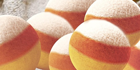 Wool Dryer Ball Workshop: Candy Corn Edition tickets