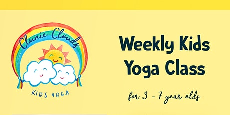 Kids yoga class for ages 3 - 7 years tickets