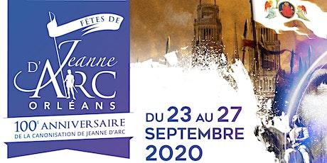 Centenaire de la Loi du 10/07/1920 - Jeanne d'Arc, fille de la République.. billets