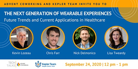 TechTalks on the Next Generation of Wearable Experiences | Zoom Meeting tickets