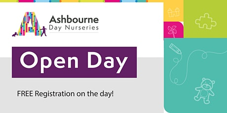 Open Day | Ashbourne Day Nurseries at Upton Meadows tickets